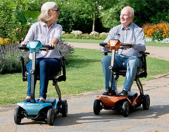 Moto electrica minusvalidos y ancianos