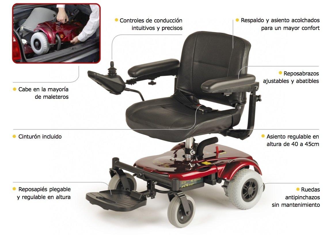 silla de ruedas economica compacta