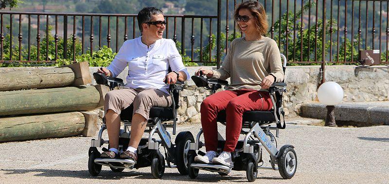 Slider sillas de ruedas electricas plegables
