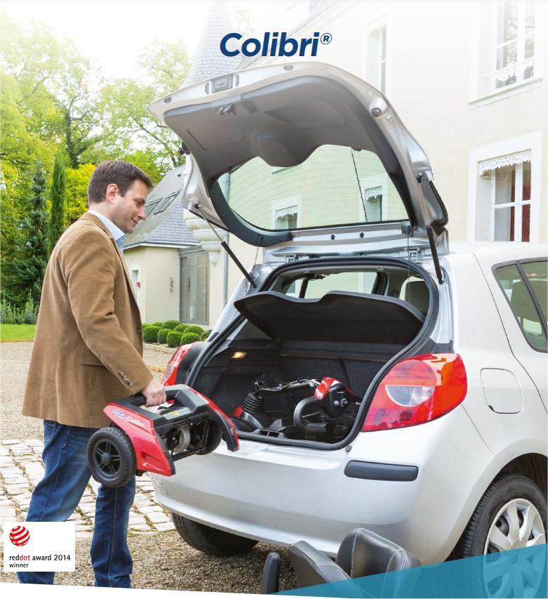 Scooter ELECTRICO COLIBRI 1 desmontable