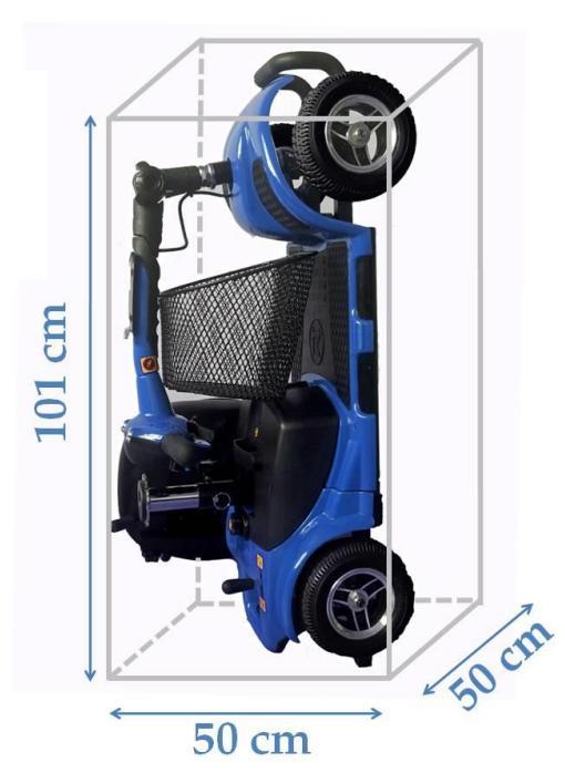 Scooter-electrico-Litium-Libercar-2 plegado