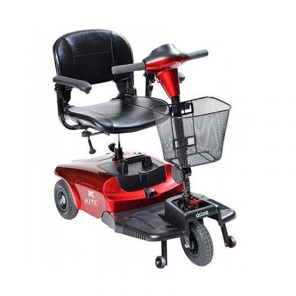 scooter electrico KITE 3 RUEDAS ROJO