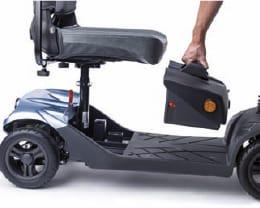 scooter electrico i-NANO 4 RUEDAS BATERIA