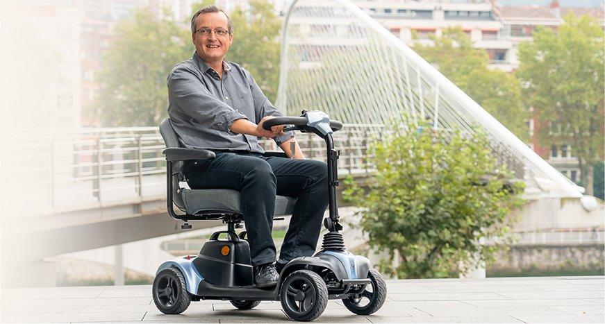 scooter electrico i-NANO 4 RUEDAS CALLE