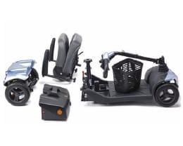 scooter electrico i-NANO 4 RUEDAS DESMONTADO