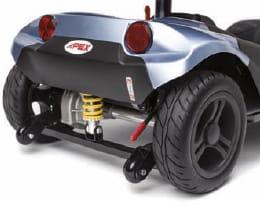 scooter electrico i-NANO 4 RUEDAS TRASERA