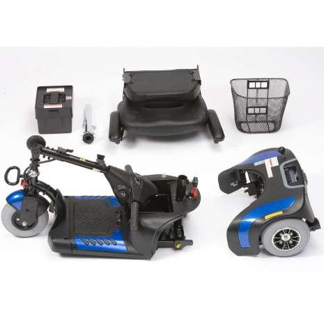 scooter electrico prism 3 ruedas desmontado